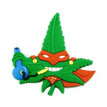 Hempy The Ninja Cannabis Magnete 3D in silicone