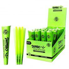 Jumbo Coni King Size Verde 3 Coni per Confezione (24pezzi/display)