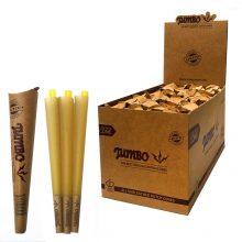 Jumbo Coni King Size Unbleached 3 Coni per Confezione (24pezzi/display)