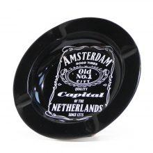 Posacenere in Metallo Amsterdam Jack Daniel's Menu