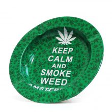Posacenere in Metallo Keep Calm And Smoke Weed