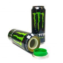 Smartstash Lattina  con Nascondiglio Interno Energy Drink Verde
