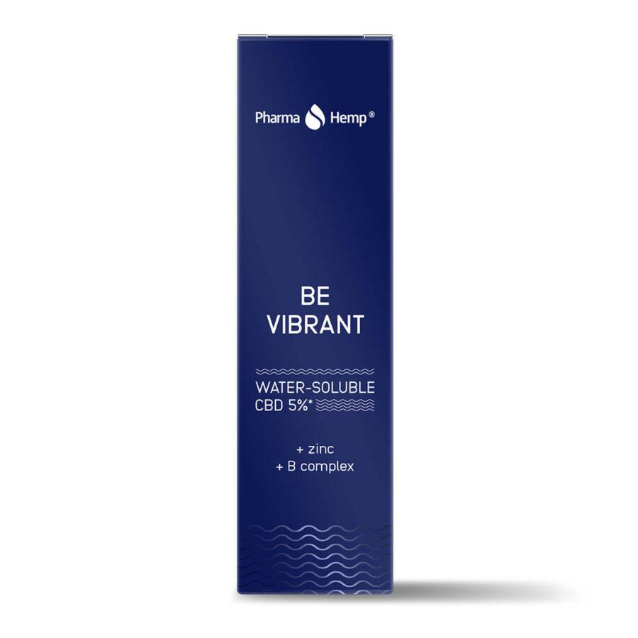 Pharma Hemp Be Vibrant 5% CBD Idrosolubile 5% con Zinco e Complesso B. (10ml)