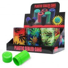Lattine di plastica sigillate per conserve Weed Elements (6pezzi/display)
