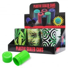 Lattine di plastica sigillate per conserve Weed Jungle (6pezzi/display)
