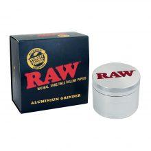 RAW Grinder in Metallo 4 parti - 56mm con Confezione regalo