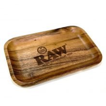 RAW Vassoio per rollare in Legno Medium