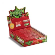 Juicy Jay Strawberry Cartine King Size Slim gusto Fragola (24pezzi/display)