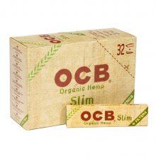 OCB Cartine Organiche King Size in Canapa con Filtri (32pezzi/display)