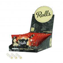 Rolls Smart Filters 8mm Fire 40 filtri per confezione (10confezioni/display)