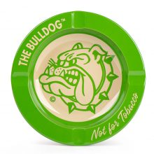 The Bulldog Posacenere in Metallo verde