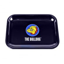The Bulldog Original Vassoio Per Rollare in Metallo Grande