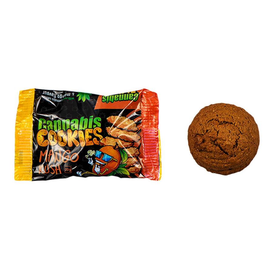 Cannabis Airlines Barattolo Biscotti Mango Kush Senza THC (400g)