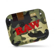 RAW Camo Army Large Metal Rolling Tray