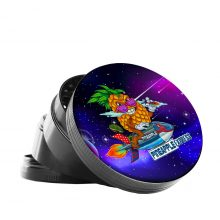 Metal Grinder Best Buds Pineapple Express 4 Parts - 50mm (12pcs/display)