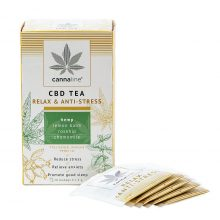 Cannaline CBD Hemp Tea Relax THC Free 30g (10packs/lot)
