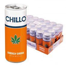 Chillo Cannabis Energy Drink Senza THC 250ml (24lattine/masterbox)