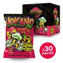 Hemp Chips Volcano OG Patatine Artigianali alla Cannabis senza THC (30x35g)
