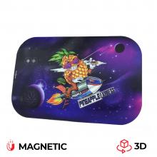 Best Buds Pineapple Express Cover Magnetica in 3D per Vassoi in Metallo misura media