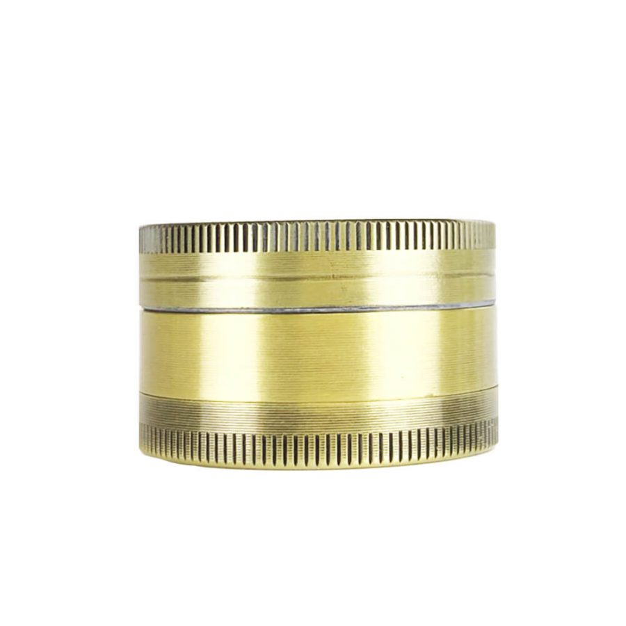 Metal Grinder Gold Leaf Coffeeshop 3 Parts – 40mm (12pcs/display)