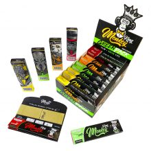 Monkey King Green Pack Rolling Papers with Tips  (24pcs/display)