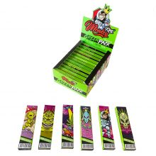 Monkey King Green Pack Alien Edition Rolling Papers with Tips  (24pcs/display)