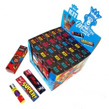 Monkey King Kit Clipper Lighter with Papers and Tips (25pieces/display)
