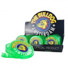 The Bulldog Green Plastic Grinder 3 Parts – 60mm (12pcs/display)