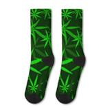 Calzini in stile Cannabis