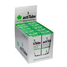 Actitube Slim Filtri ai Carboni attivi 10pz per Confezione (20confezioni/display)