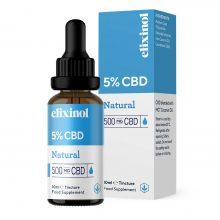 Elixinol Olio di CBD 5% Naturale (10ml)