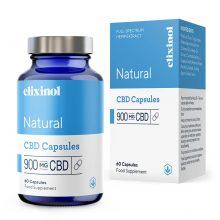 Elixinol Natural CBD Capsule 900mg (60 capsule)