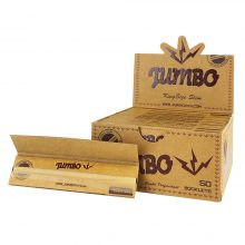 Jumbo Unbleached Cartine King Size (50pezzi/display)