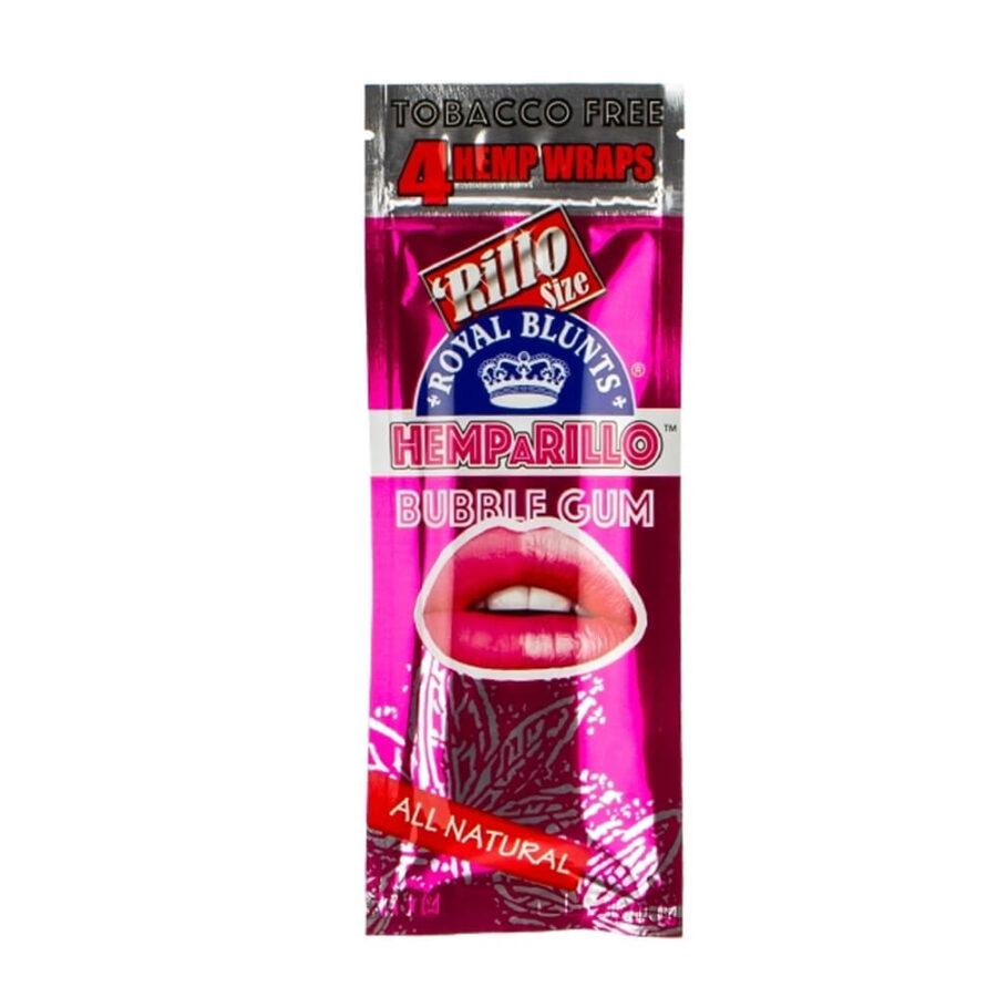 Hemparillo Blunts in Canapa Bubblegum x4 Blunts (15pacchetti/display)