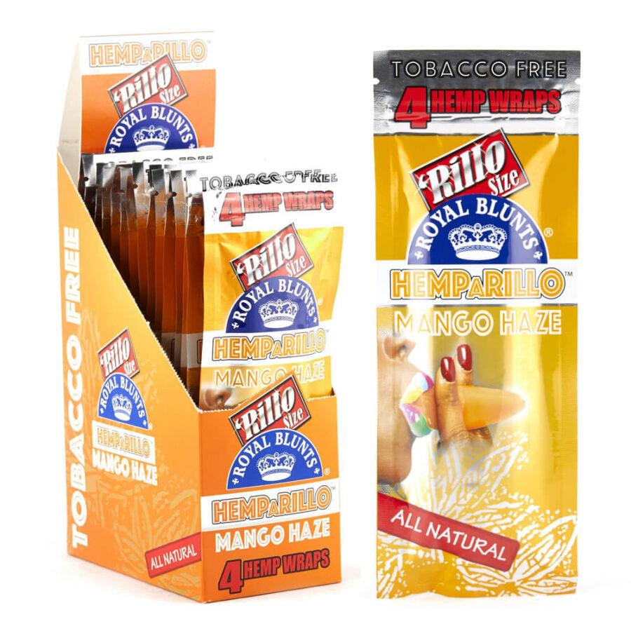 Hemparillo Blunts in Canapa Mango Haze x4 Blunts (15pacchetti/display)