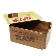 RAW Cache Box Mini Vassoio + Box in Legno