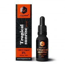 Happease CBD E-Liquid Tropical Sunrise 3% - 300mg (10ml)