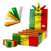 Jumbo Filtrini Colori Rasta (100pezzi/display)