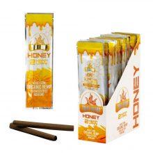 True Hemp Wraps Blunt alla Canapa Miele senza Tabacco (25pezzi/display)