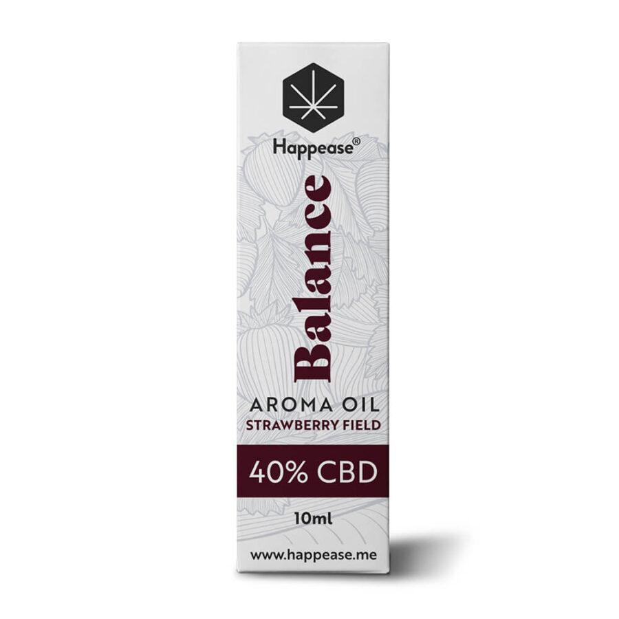 Happease Balance 40% Olio di CBD Strawberry Field (10ml)