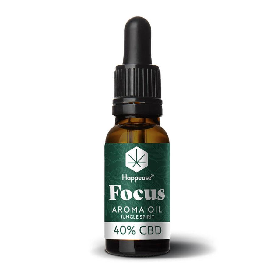Happease Focus 40% Olio di CBD Jungle Spirit (10ml)