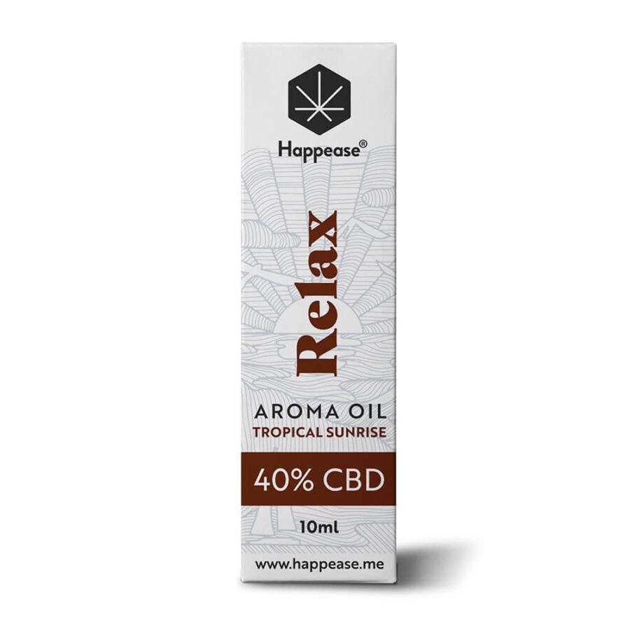 Happease Relax 40% Olio di CBD Tropical Sunrise (10ml)
