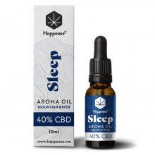 Happease Sleep 40% Olio di CBD Mountain River (10ml)
