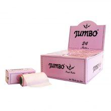 Jumbo Roll Cartine Rosa (24pezzi/display)