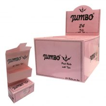 Jumbo Roll Cartine Rosa + Filtri (24pezzi/display)
