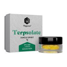 Happease Estratto di CBD Jungle Spirit Terpsolate 97% CBD + Terpenei (1g)