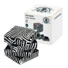 Champ High Grinder Zebra in Metallo 50mm - 4 Parti